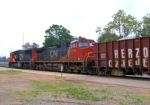 CN 2726 With Loaded Herzog Ballast