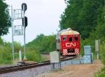 CN 1501 Budd RDC Track Geometry Vehicle