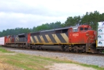 CN 5562 SD60F Cowl DPU on Train 342