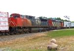 CN 8847 DPU on Train 342