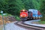 CN 8009 Train 198