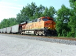 BNSF 5884 at Mermet IL