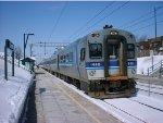 AMT 448 on Train 934 entering Mount Royal Station