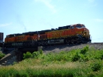 BNSF 4313 and 7549
