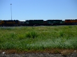 BNSF 6397 and 1510