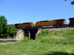 BNSF 739 and 5042
