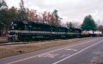 Southern Railway SD45 #3158 and SD40-2's #3271 & 3318 lead Southern Railway westbound train #135