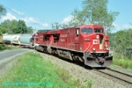 CP 8737 northbound