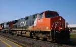 CN 2530 and 5636 on train 308