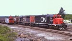 CN 5025 and 5060 at North Bay