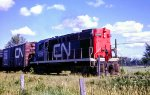 CN 3702 on the outskirts of Massena, NY
