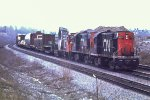 CN 3115, CN 3103 and CN 1360 at Lachine