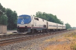 Westbound Michigan Corridor train