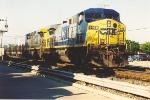 Westbound CWR train
