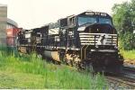 Northbound stack train