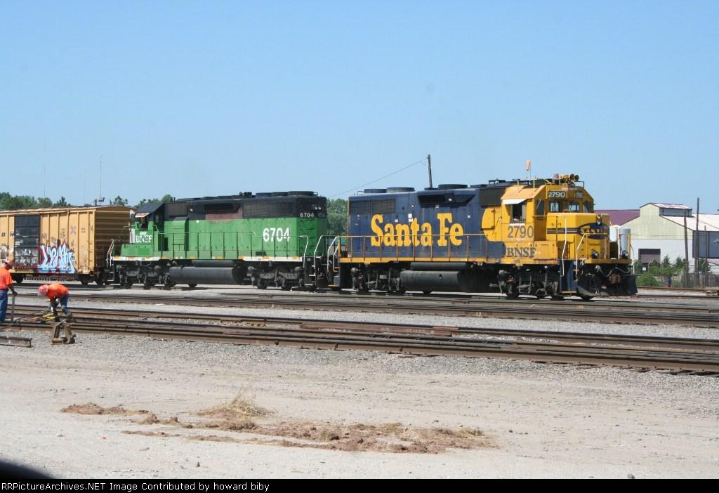 BNSF 2790