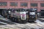 MBTA 1138, NS 2578 & 8415