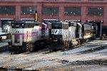 NS 7025, MBTA 1138, NS 4636, 4271 & 6910