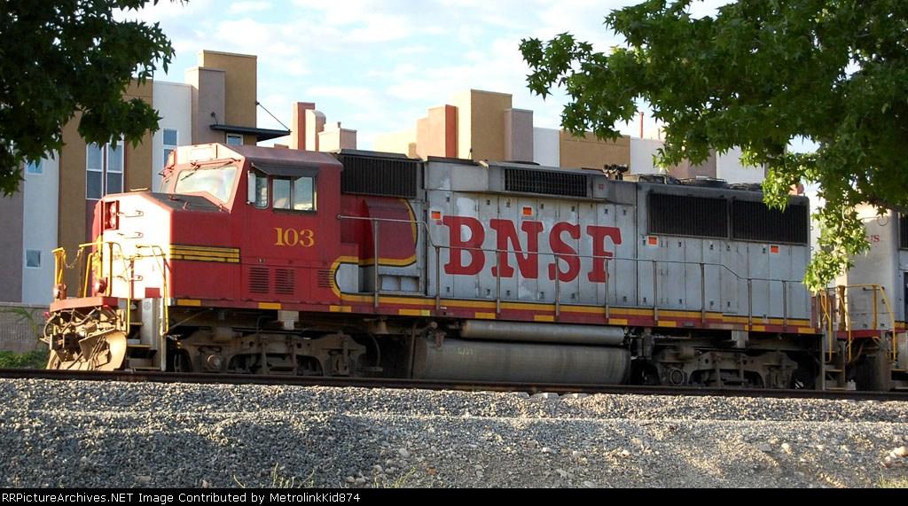 BNSF GP60M 103
