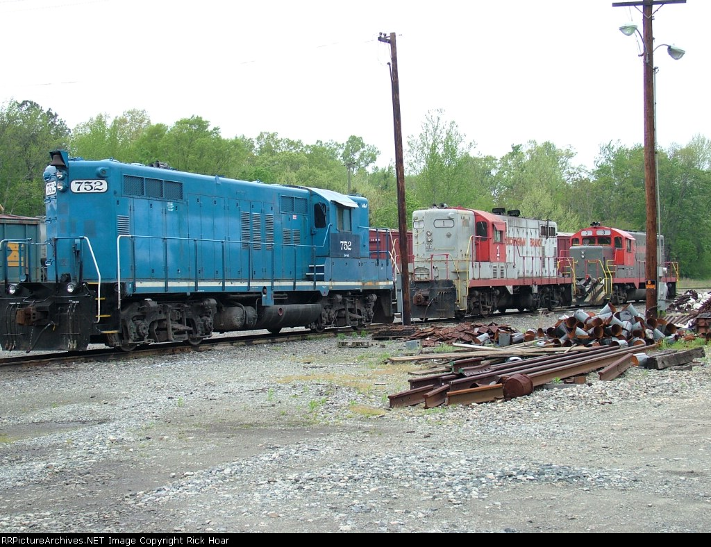 Buckingham Branch locos stored for the weekend