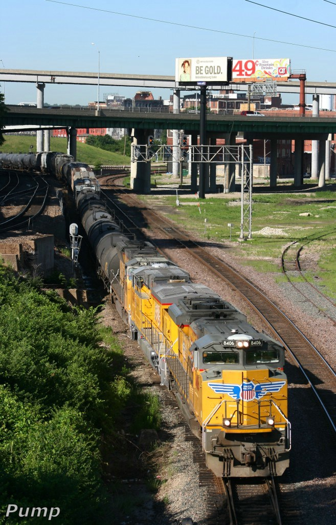 Eastbound UP Manifest Train