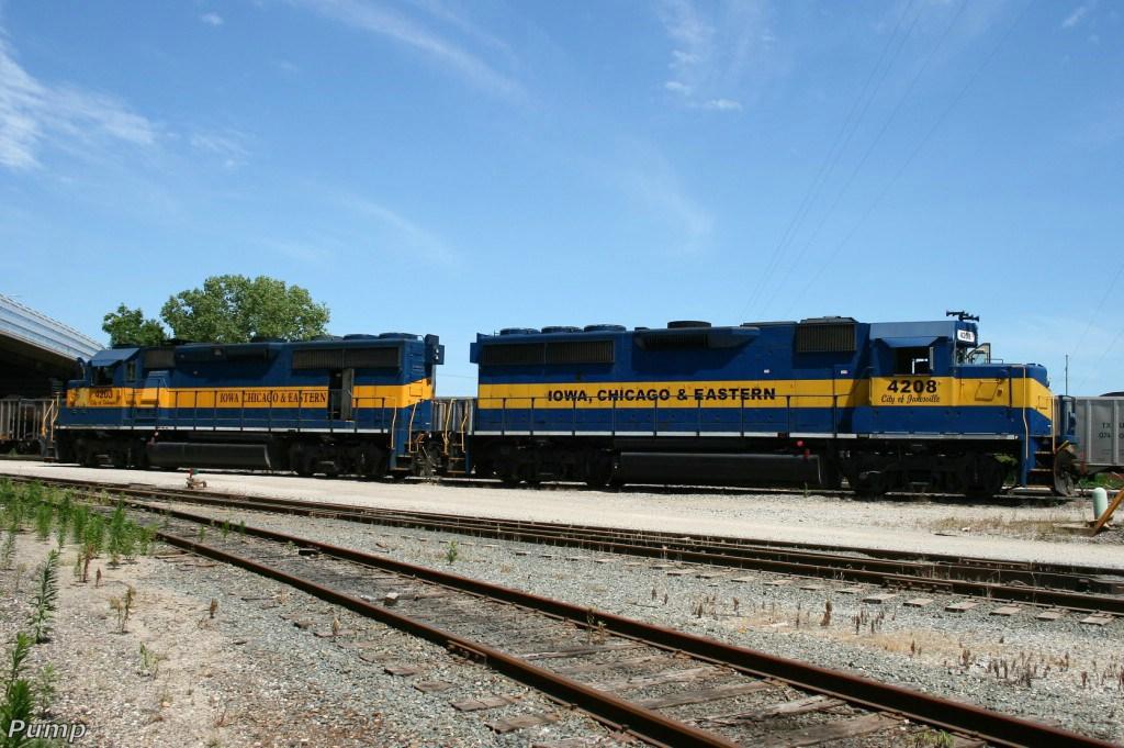 ICE Locomotives at Knoche Yard