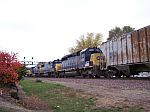 CSX power a plenty