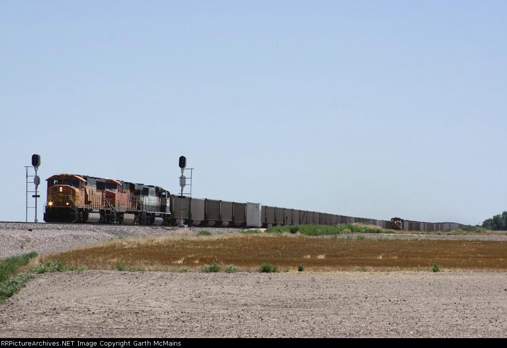 BNSF 9873 West