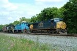 NS 2222 HM01 With CSX 5443 Q190
