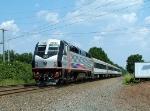NJT 4001 N/B RVL Train