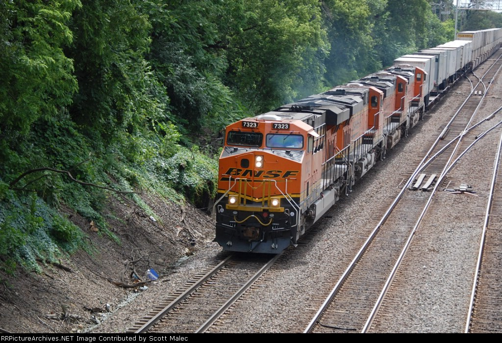 BNSF 7323, 7324, 7399 & 7484