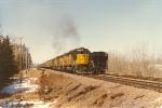Easbound unit potash train