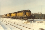 Eastbound unit potash train