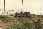 Switching grain cars on the north side