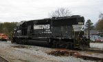 Rear shot of NS power at Carrollton, GA