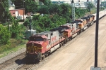 Westbound intermodal nears St. Anthony
