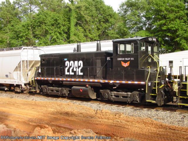 Conecuh Valley Railroad SW1500 #2242