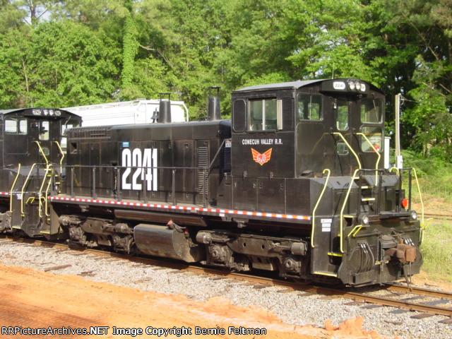 Conecuh Valley Railroad SW1500 #2241