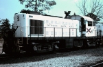 "Chattahoochee Industrial Railroad RS1 #3, with ""General"" painted on the cab above the number,"