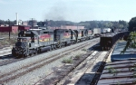 Louisville & Nashville SD40-2's 8031 & 3576, U30C #1490 and C30-7 #7046 lead Chattanooga bound train #686