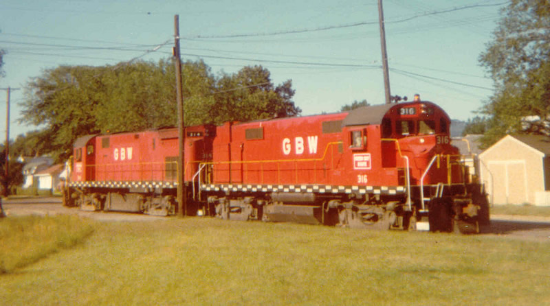 GB&W 316 and 314