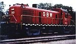 GB&W 303 in the simplified Red scheme