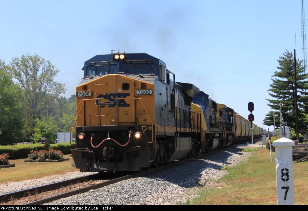 CSXT #7306 Q582-2 Cowan,TN