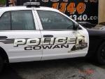 Train Police Car