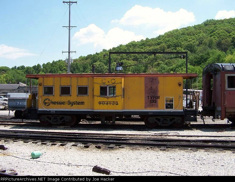 An old C&O Car