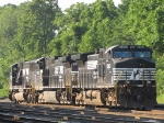 NS 9383, 9795 & 6778 unassigned and dead in the yard
