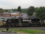 NS 9743, 2nd. lead unit on the V92 grain train