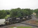NS 9431 & 9743, lead motors on the V92 grain train