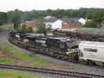 NS 9743 & 9431 pushing the V92 grain train north