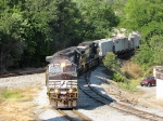 The 44T heading north to Linville